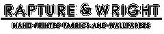 Rapture & Wright Brand Logo